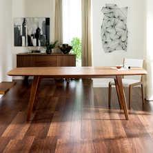 Circa extending rectangular dining table