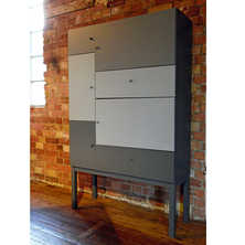 Patch sideboard large grey