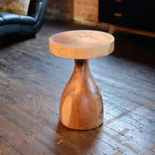 Mushroom side table