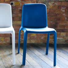 Robust chair blue