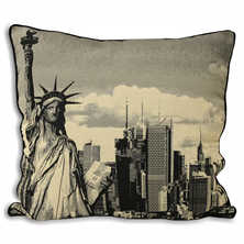 Statue of Liberty cushion
