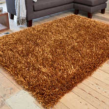Spike rug large bronze