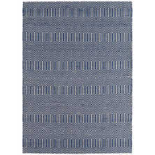 Tunis rug large blue