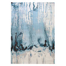 Splash colour rug large blue