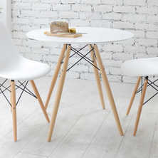 Eiffel dining table with beech legs ...