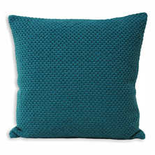Crosby cushion teal