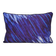 Art attack cushion blue stripe