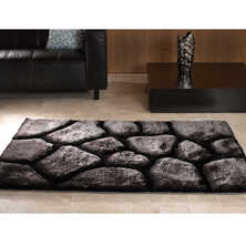 Stones rug medium