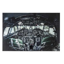 Cockpit view glass art