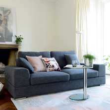Verona three seater sofa slate