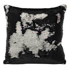 Glam cushion black