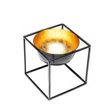 Cube tea light holder