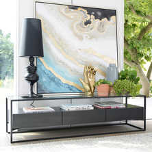 Drift TV unit darkwood