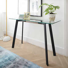 Palais glass console table