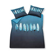 Icy feather duvet set with housewife pillowcase double