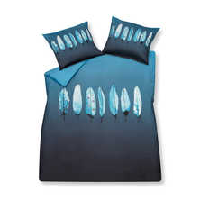 Icy feather duvet set with housewife pillowcase king