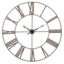 Roman numberal wall clock extra large