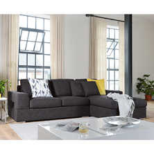 Verona right hand corner sofa bed ...