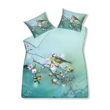 Blossom duvet set with housewife pillowcase double