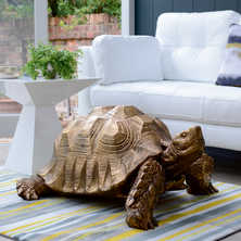Giant gold tortoise XL