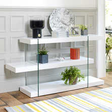 Treble low shelving white