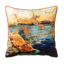 Landscape art cushion