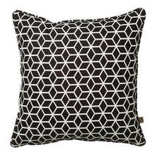 Hexa cushion black