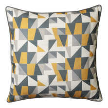 Edges cushion yellow