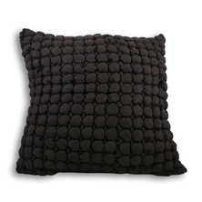Cubic cushion black