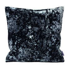 Crush velvet cushion ink