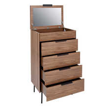 Antwerp chest of drawers with lifting mirror