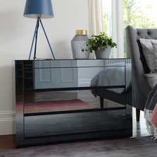 Reflect smoked mirrored wide chest ...