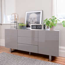 Trento sideboard stone gloss and ...