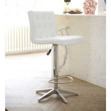 Hadley bar stool white