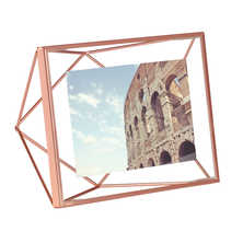 Prism picture frame medium copper