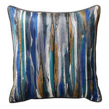 Paint stripe cushion