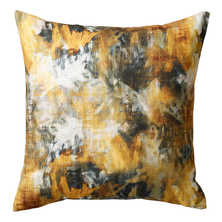 Blear cushion yellow