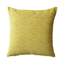 Segment cushion yellow