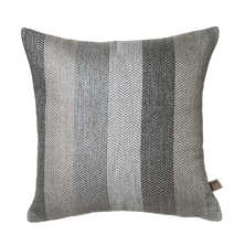 Stripe cushion grey