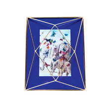 Cage picture frame Blue 10x15cm
