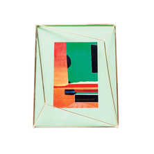 Cage picture frame green 10x15cm