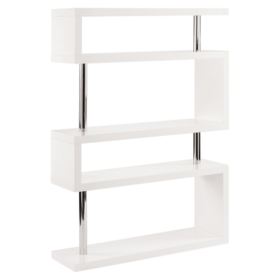 Contour wide shelving white