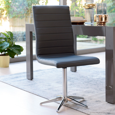 Ripple dining chair grey
