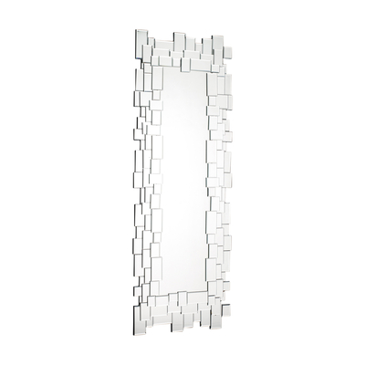 Mosaic mirror rectangular tall