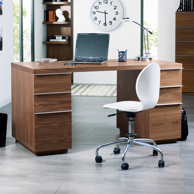 Madison office desk walnut