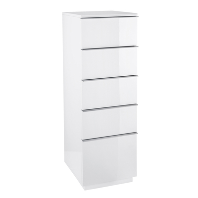 Madison tall office cabinet white