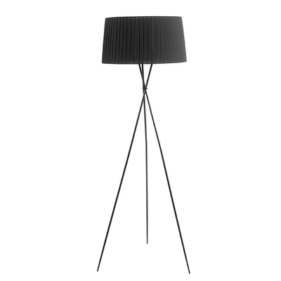 Tripod floor light black