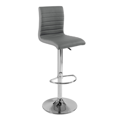 Ripple bar stool grey