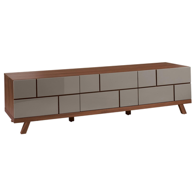 Brick TV unit stone