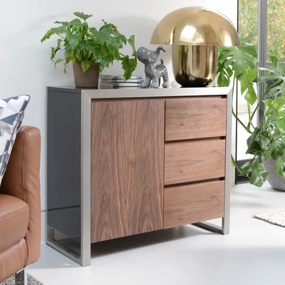 Nova compact three drawer sideboard